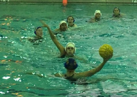The girls water polo team lost 17-6 to rival LT on Wednesday, April 3.