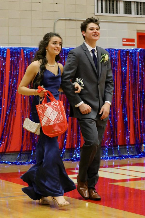 Hinsdale Central students attended prom on Saturday, May 4, arriving at  5:30 p.m. before heading to Crystal Garden at Navy Pier. Students were celebrated with a runway walk, a ferris wheel ride, and a midnight cruise on Lake Michigan. This year's prom theme surrounded a star wars theme with the phrase