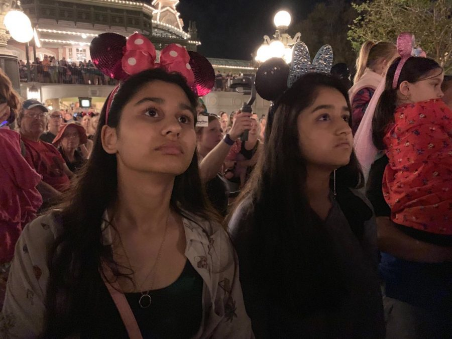 Senior+Enaya+and+Sophomore+Emaan+Khan+enjoyed+their+spring+break+in+Disney+Land%2C+California.