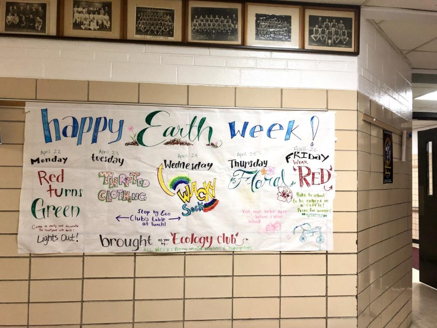 From April 22-April 26, Central celebrated Earth Week through various dress days, which were created by Ecology Club.