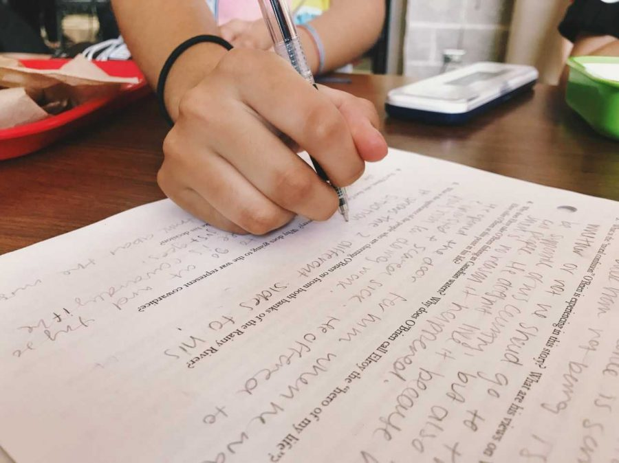 Students prepare for the exam during their Sophomore and Junior years so that they can preform well.