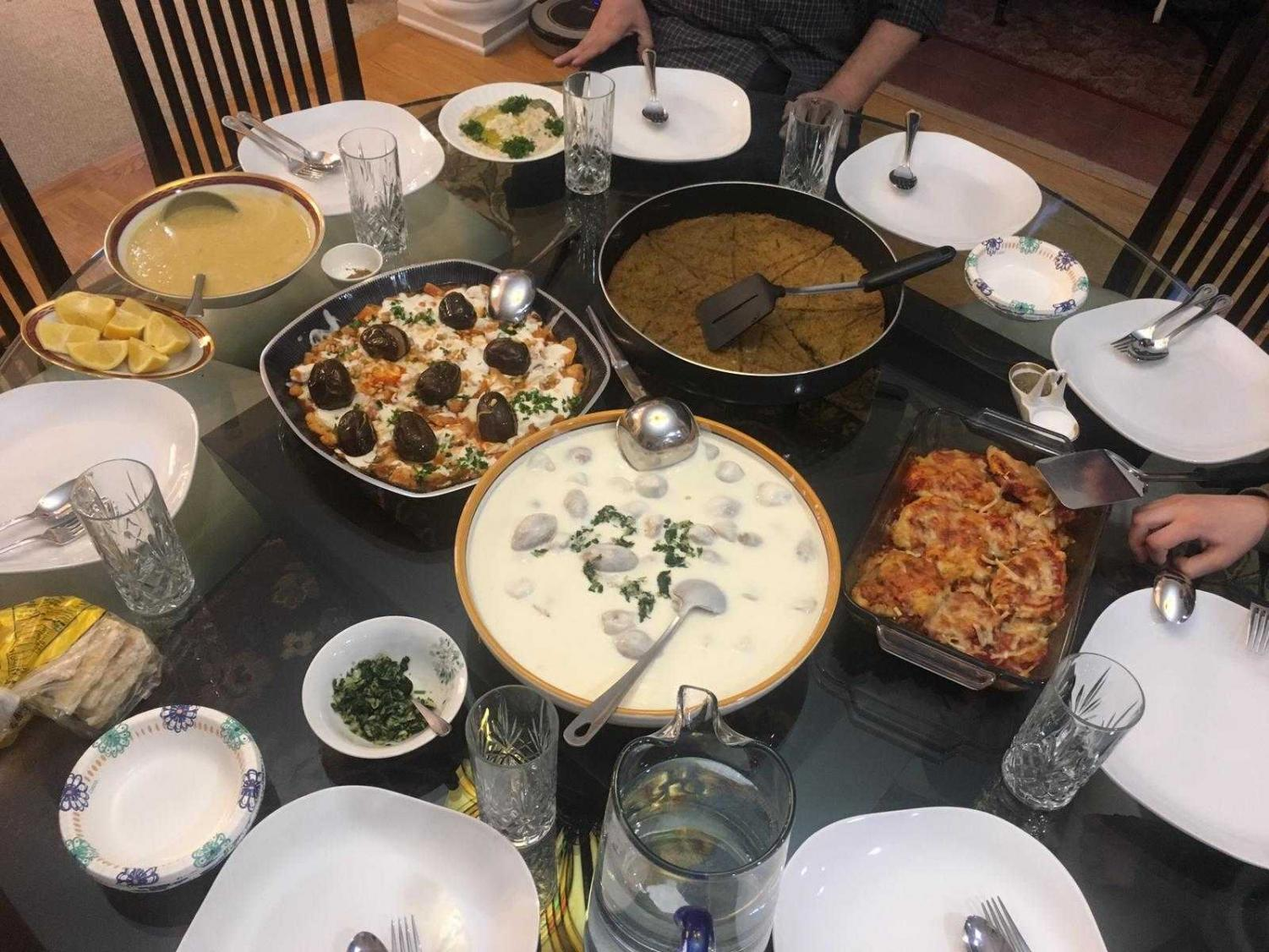 Typically Mediterranean dishes are cooked during the month of Ramadan.