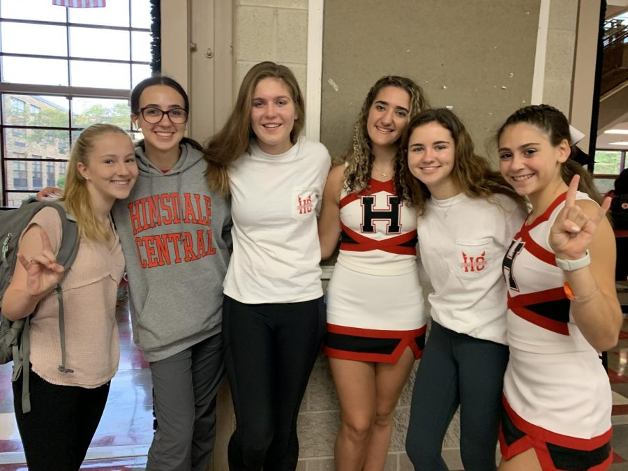 On Friday, Sept. 27, students wore school spirit or red and white.