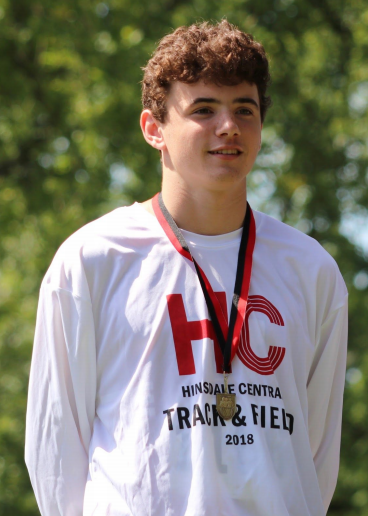 Dan Watcke, freshman, placed first in the 1.93-mile race for the freshmen team with a time of 9:50.