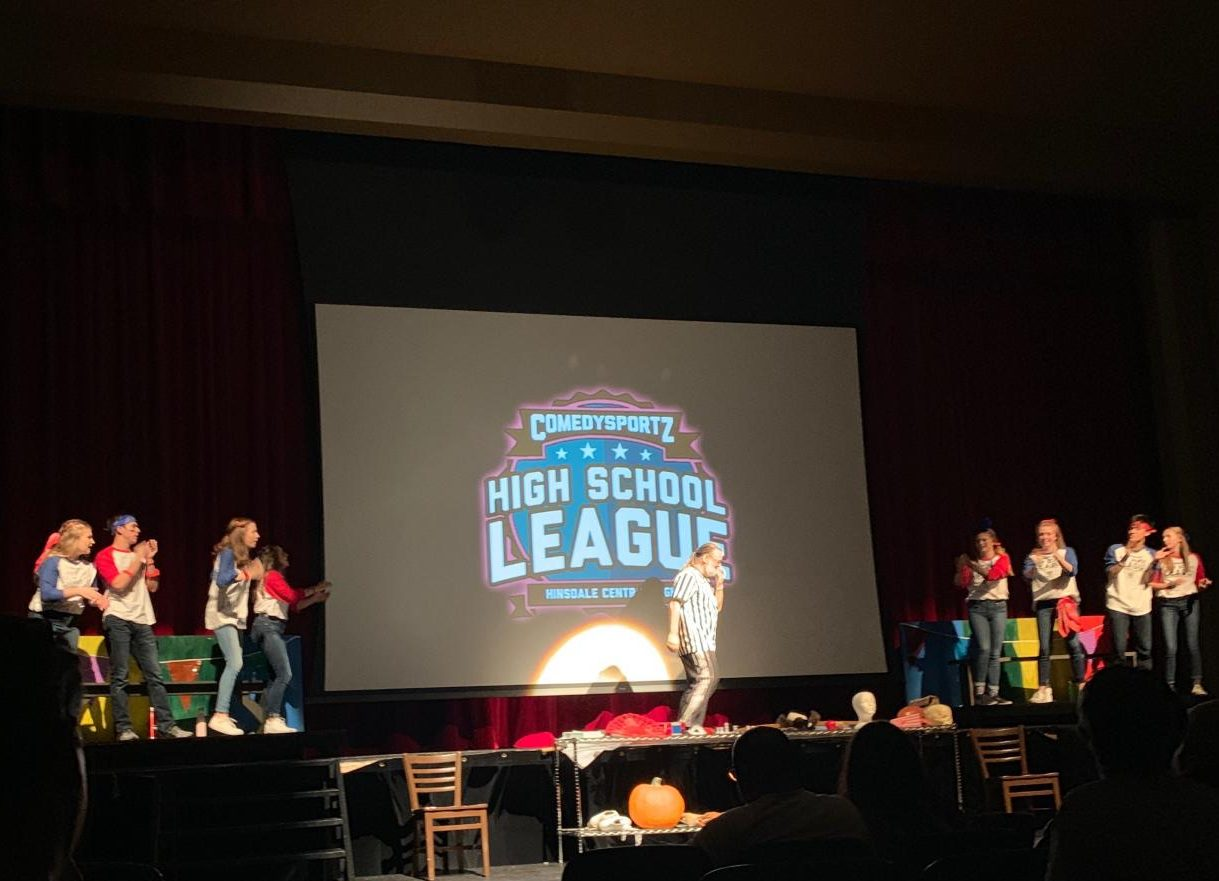 The second act featured juniors and seniors who were on the blue and red team.