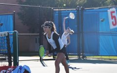 Girls' varsity tennis serves a win at sectionals