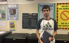 Tech-savvy student receives school service award