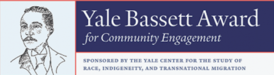 The Yale Bassett Award for Community Engagement is a very honorary award given to students who display leadership, public service, and academic distinction.