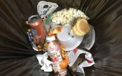 Food waste in the cafeteria loses attention
