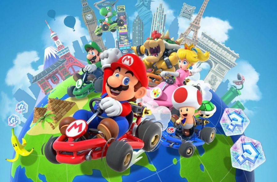 Nintendo+released+%27Mario+Kart+Tour%22%2C+the+long+awaited+version+of+%22Mario+Kart%22+for+mobile+devices+in+September+2019.+