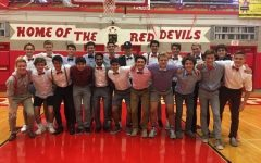 The boys soccer team dressed up for their LT game on Thursday, Sept. 26.