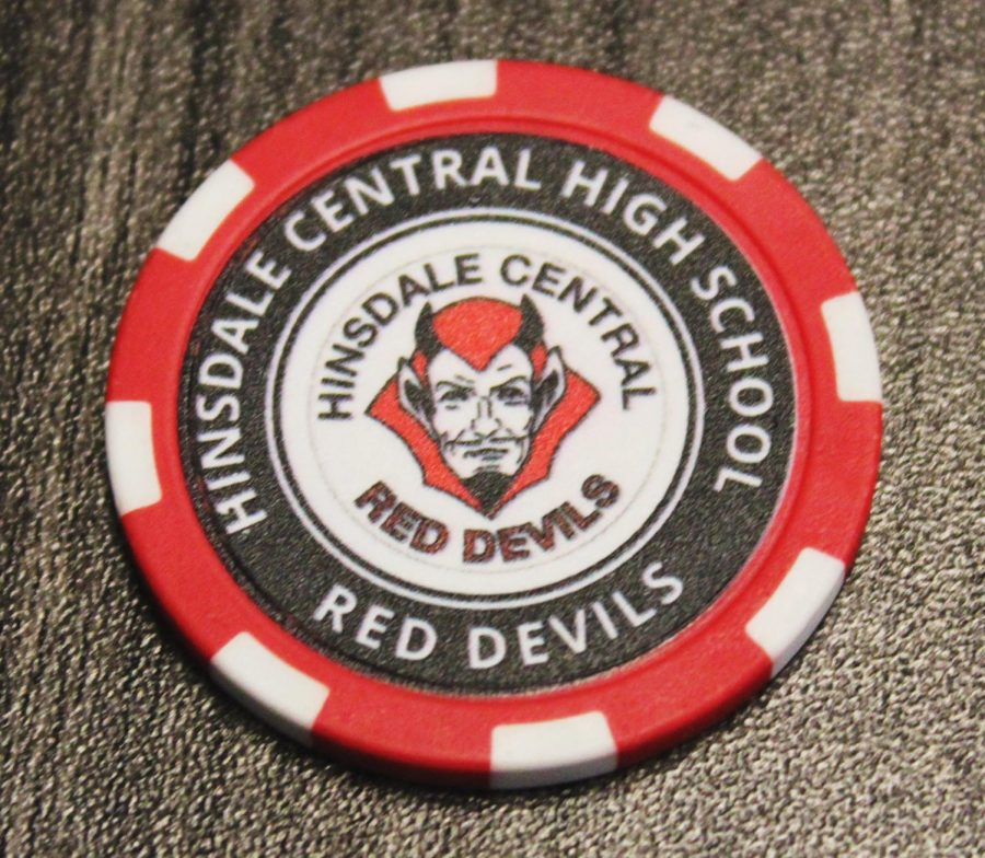 Students can now earn challenge coins from the security team by exemplifying safety.