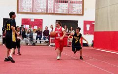 Students face off Hinsdale South in Special Olympics basketball game