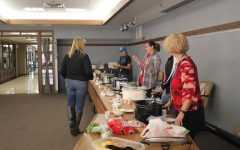 Central staff participates in chili and brownie bake-off