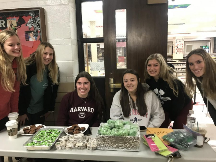 Students sold creative, spooky-themed desserts that sweetened up the halls before school started.