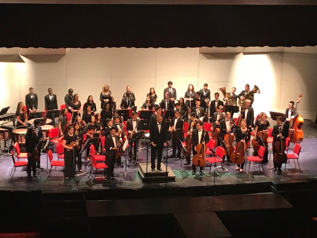 Central's Philharmonic Orchestra did a great job performing