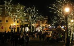 Christmas walks the streets of Hinsdale