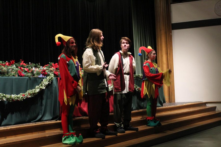 Gallery: Choir gets in the holiday season with Madrigal concert