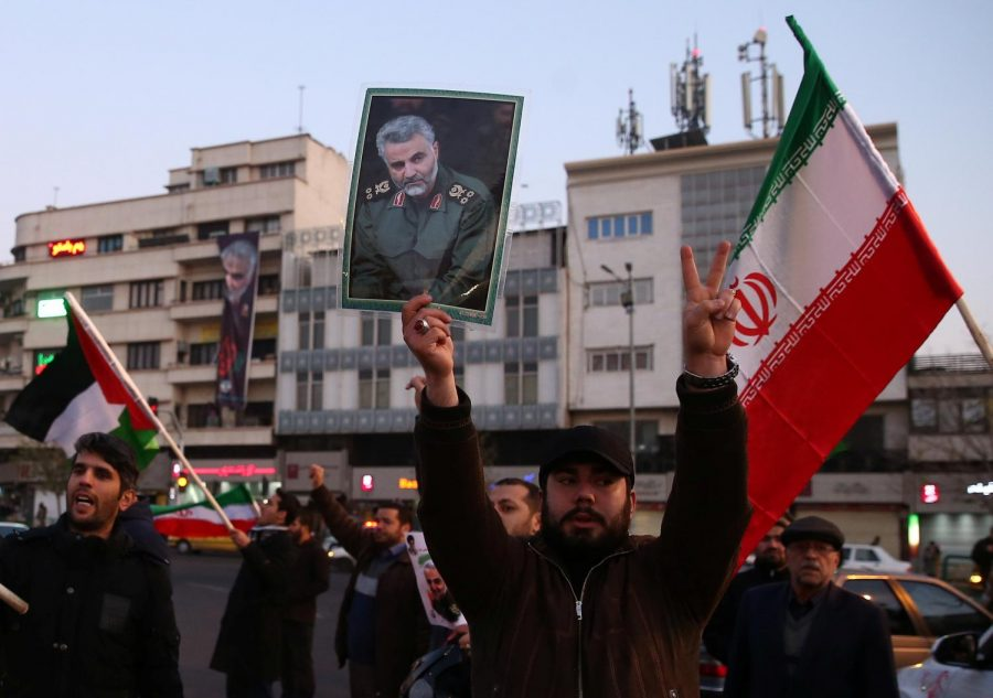 Protests erupted in Iran after President Donald Trump authorized a missile strike that killed top Iranian general Qasem Soleimani.