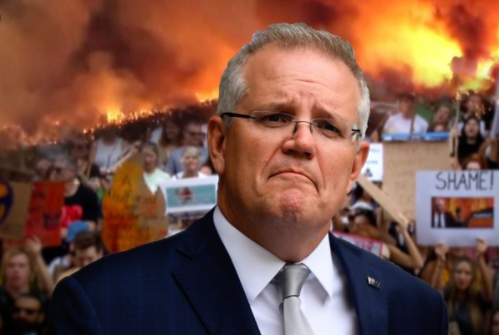 Australian Prime Minister Scott Morrison has come under fire from those who criticize his ineffective response to the fires and climate change.