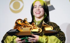 The 18-year-old pop artist Billie Eilish came home with five Grammy awards.