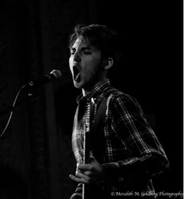 Performing at the Metro in Chicago, senior Colin Ratcliff pursues his music passion.