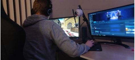 One student finds time to compete in esports while also being a responsible student.