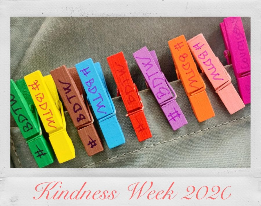 Breaking Down the Walls (BDTW) hosted Kindness Week from Monday, Feb. 3 to Friday, Feb. 7. Each day consisted of a different challenge for students and faculty to participate in. Monday's challenge was to pass around