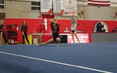 Central's girls' gymnastics team competed in several events against five other schools on February 11.