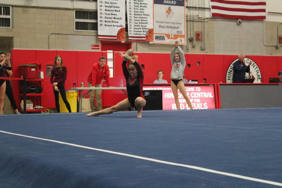 Central%27s+girls%27+gymnastics+team+competed+in+several+events+against+five+other+schools+on+February+11.