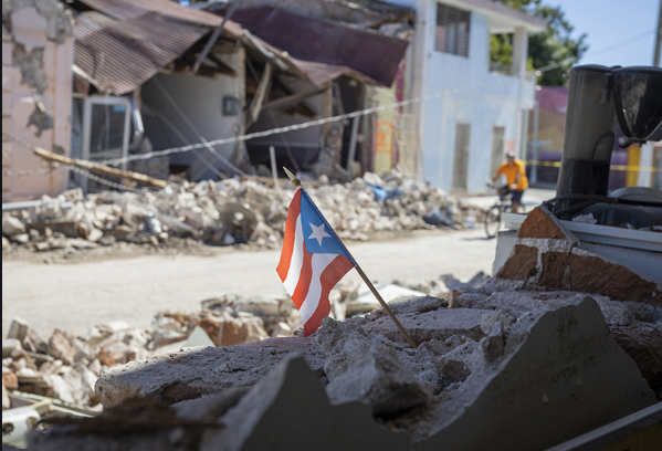 As the earthquakes continue to strike Puerto Rico, damage to buildings, houses, and public facilities has left island destroyed.