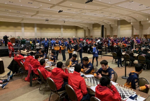 The chess team places in eighth place in the IHSA state tournament.