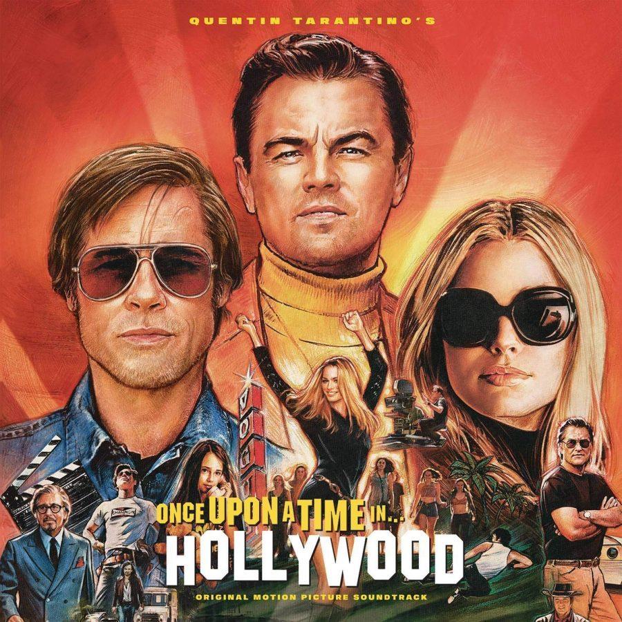Brad Pitt, Leonardo DiCaprio, and Margot Robbie starred in