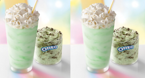 The Shamrock Shake and Shamrock McFlurry are brought back to celebrate St. Patrick