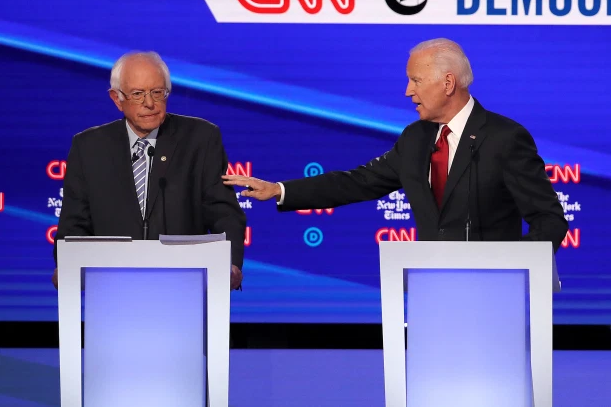 Bernie+Sanders+and+Joe+Biden+faced+off+in+previous+debates+that+included+former+candidates.+On+Sunday%2C+March+15%2C+the+two+candidates+will+participate+in+a+debate+with+only+each+other.