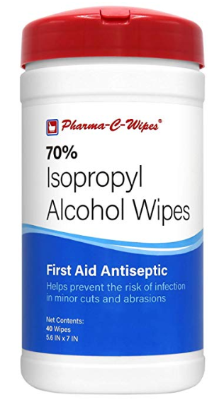 These wipes can also be used for medicinal purposes, such as cleaning wounds on the skin safely.