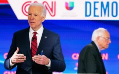 Sanders and Biden participate in 11th Democratic Debate