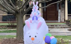 Although everyone is stuck in their homes, many still celebrated Easter by putting up festive decorations both inside and outside of their houses.