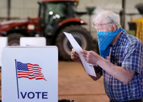Voters in Wisconsin head to the polls to vote despite fears of the coronavirus.