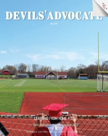 Devils' Advocate print senior edition May 2020.