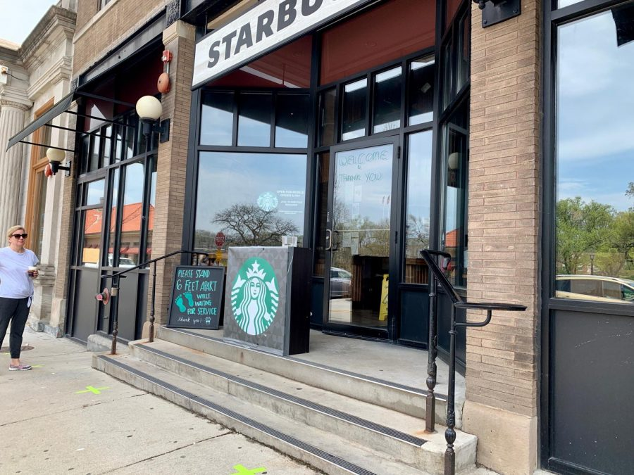 As businesses begin to open up again, including Starbucks, enjoy your favorites with curb-side pickup.