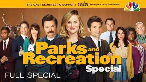 "The cast of renowned sitcom ""Parks and Recreation"" reunited for a 30 minute quarantine special to benefit Feeding America."