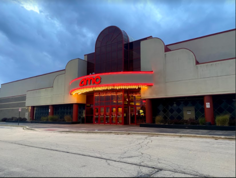Although recently opened to the public, the AMC in Woodridge is almost empty.