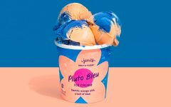 Pluto Bleu, a new ice cream flavor, was released online on Sept. 19, and in stores on Sept. 21.