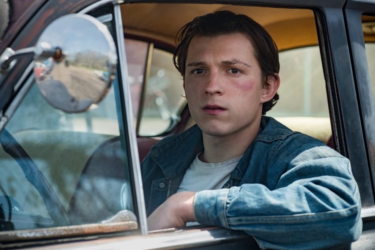 Tom Holland stars as main character Arvin Russell in