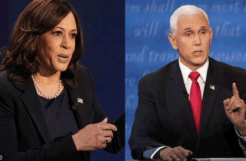 Vice President Mike Pence and Senator Kamala Harris debated for the position of vice president 2020 election.