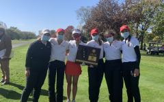 As one of the fall sports that can participate during the pandemic, the girls' golf team has been safely competing.
