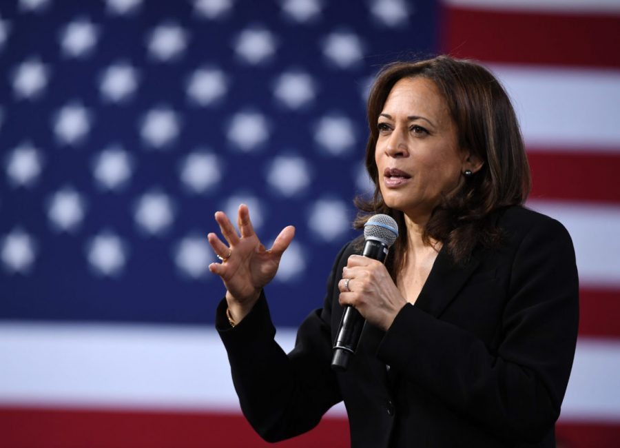 Vice President Elect Kamala Harris speaking after President Elect Joseph R Biden announced her as his running mate.