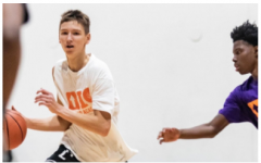 Matas Buzelis, sophomore, is a basketball prospect and has already received multiple college offers.