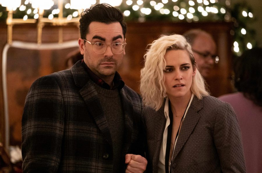 Stewart's Abby with Dan Levy's John.